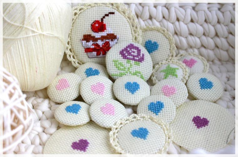 3 в 1 вышивка вязание скрап ярмарка мастеров