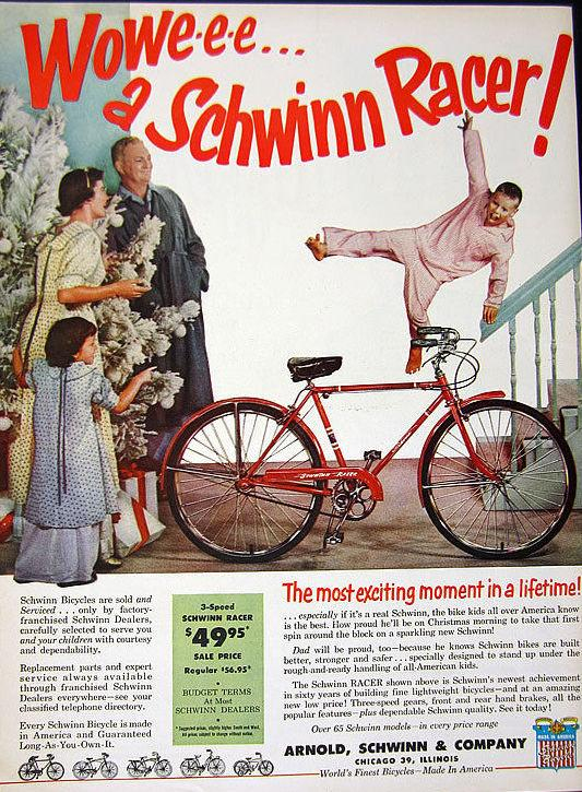 Новогодняя реклама Vintage/1951 -1956 включительно, фото № 43