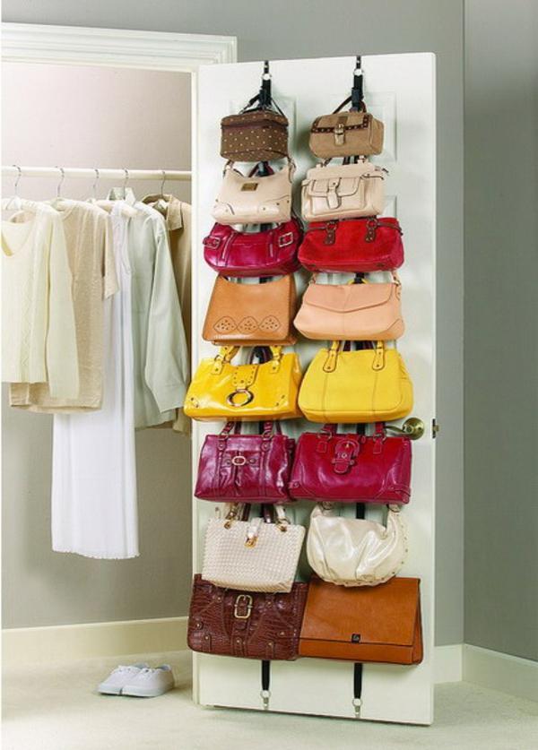 Как сделать органайзер для хранения сумок