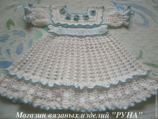 платья ручной работы, ажурные платья