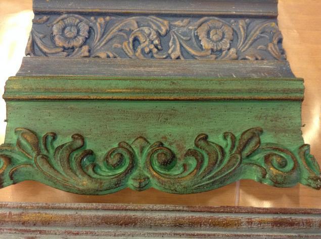 патина, декоративные элементы