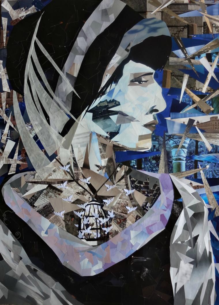 анна, анна ахматова портрет
