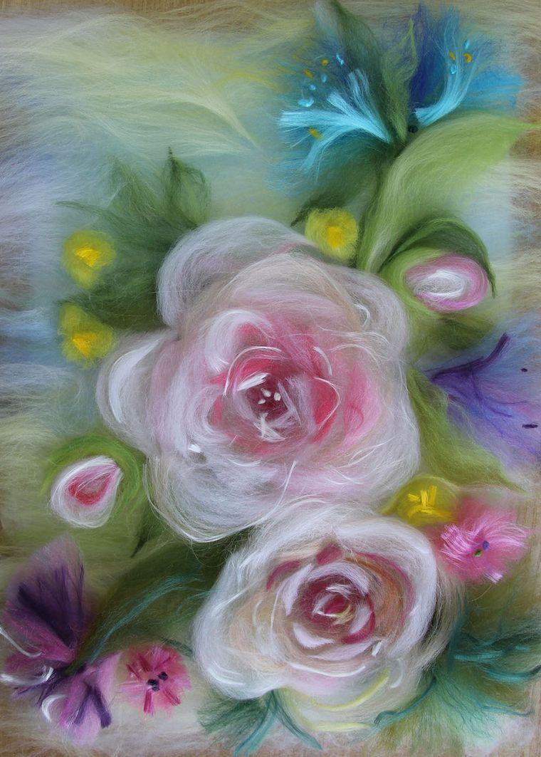Отчет о мастер-классе Елены Панасик по живописи шерстью 19 марта, фото № 9