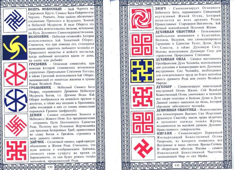 Славянские обереги своими руками и их значение