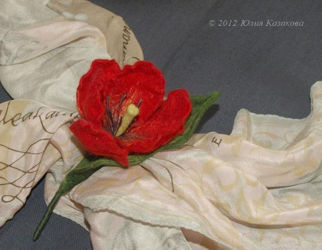 мокрое валяние, мастер-класс, валяние на каркасе, цветы из шерсти