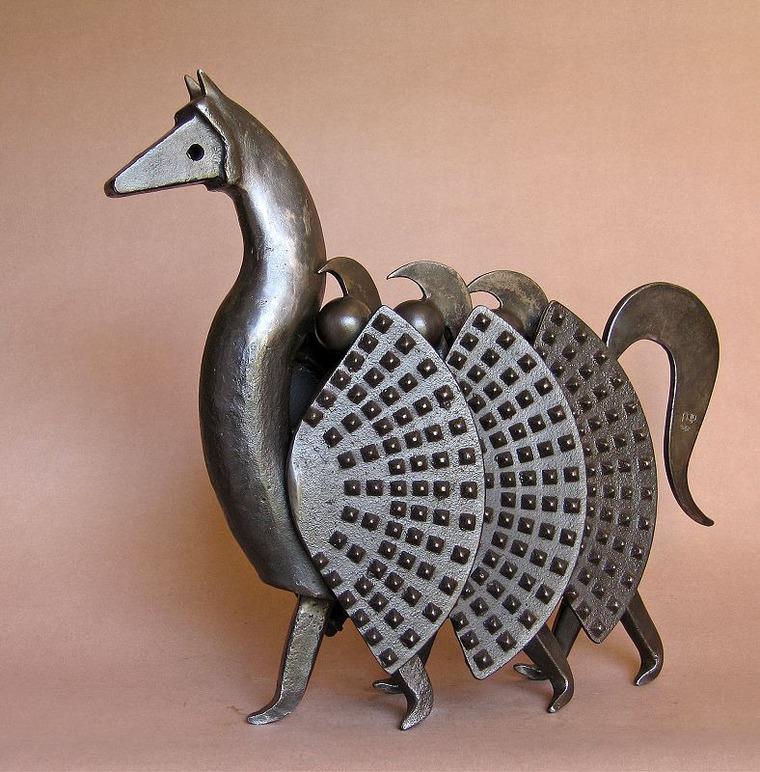 Грация, движение, нежность и юмор в работах французского скульптора ean-ierre ugie, фото № 2