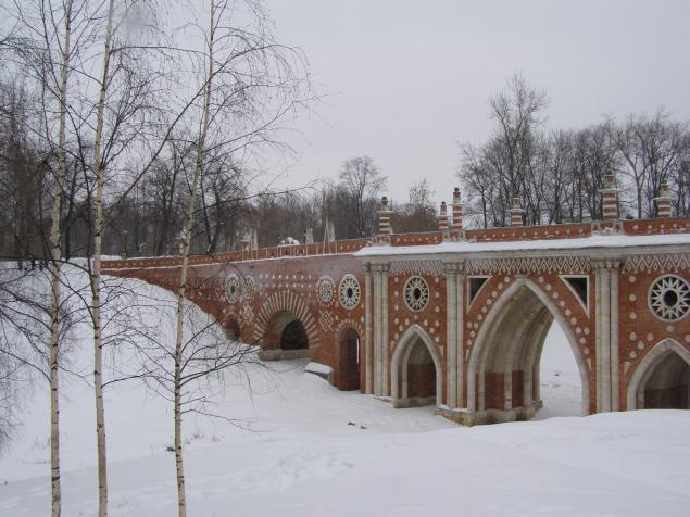 Царицыно в зимнем ракурсе., фото № 3
