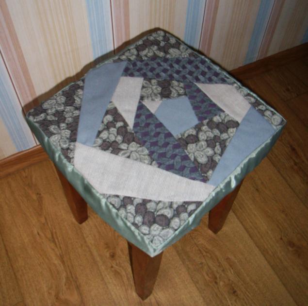 Сидушки для стульев на резинке своими руками