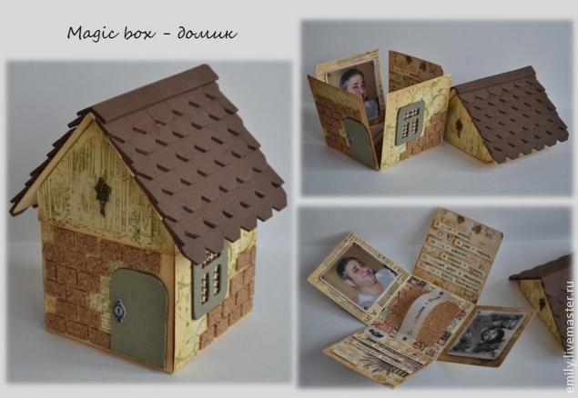 Коробка с крышкой из бумаги своими руками фото