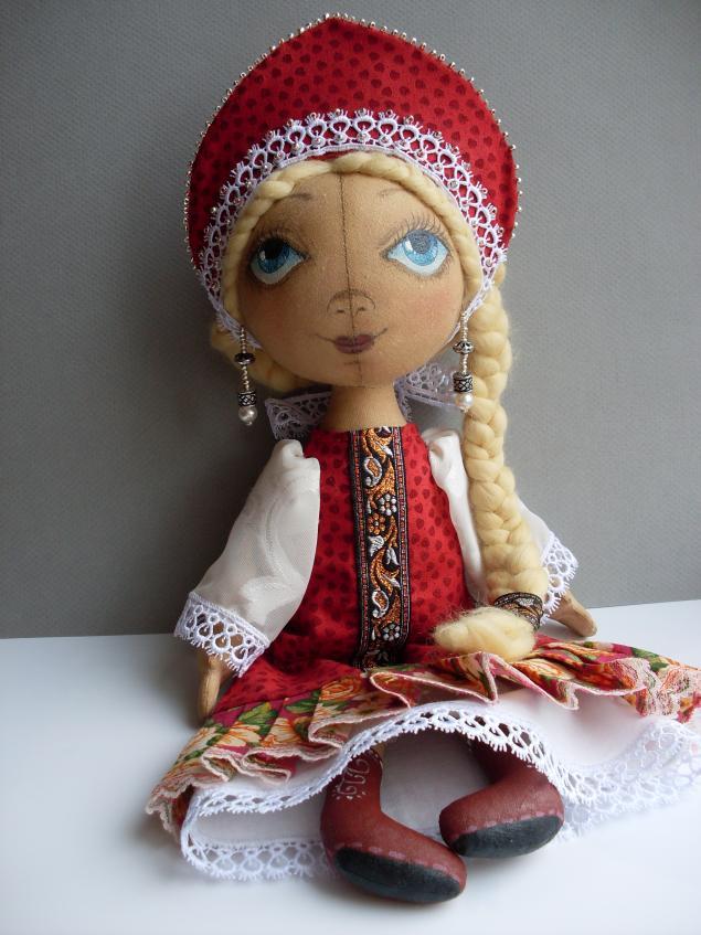 мастер-класс, обучение, шьем сами куклу