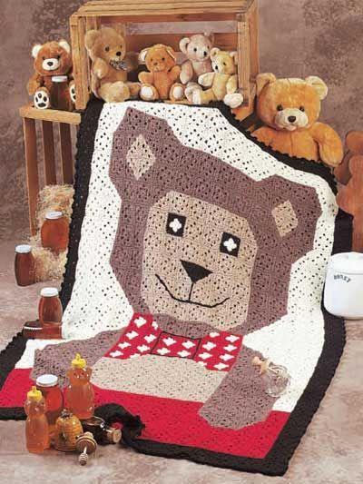 Teddy Bear Afghan