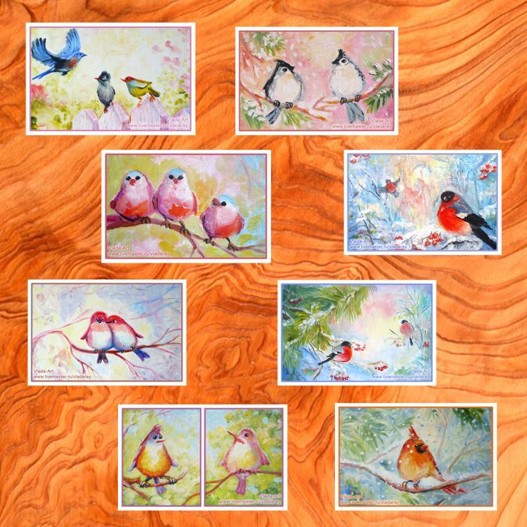 открытки с картинами