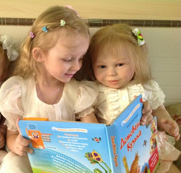 эльвира и владимир, узнать о куклах-реборн, кукды-дети