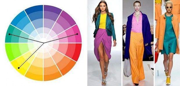 цвета одежды и бижутерии