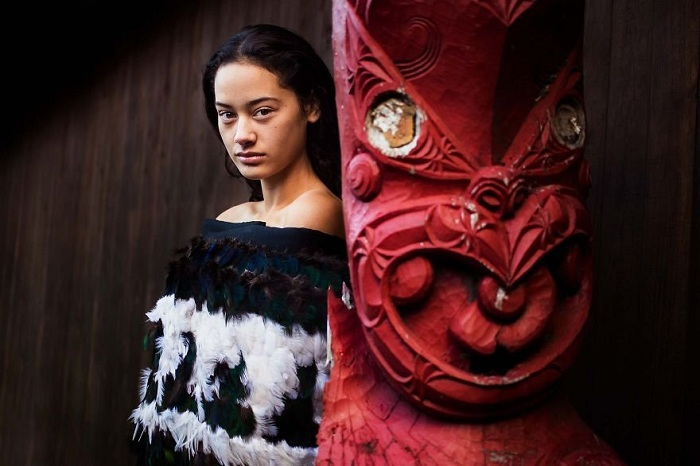 Храм Маори, Новая Зеландия.