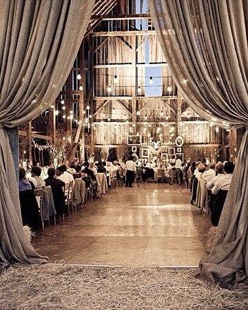 Льняная свадьба. Идеи для вдохновения, фото № 41