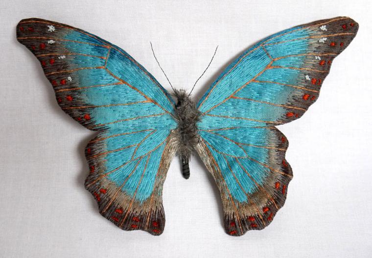 Текстильные шедевры, или Бабочки как источник вдохновения, фото № 38