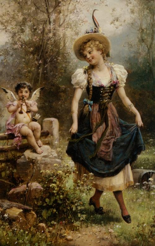 Шедевры живописи. Картины австрийского художника Ханса Зацка, фото № 8