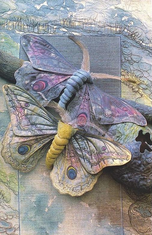 Текстильные шедевры, или Бабочки как источник вдохновения, фото № 6