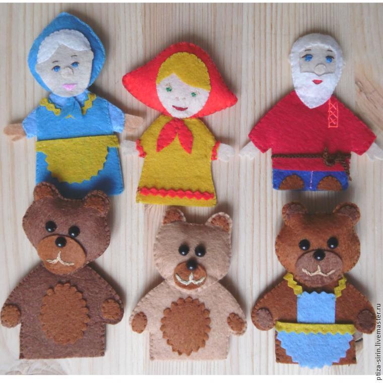 Кукольный театр своими руками выкройки маша и медведь