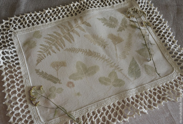 How to Make Plant Prints on Fabric, фото № 18