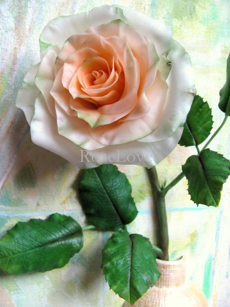 картина роза, объемная картина