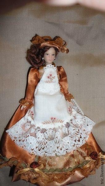 Одежда для кукол .Фартучек., фото № 34