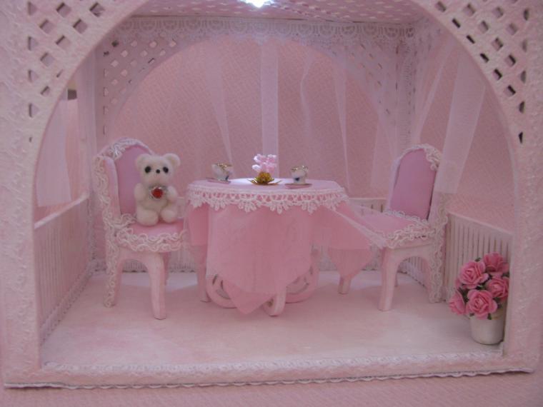 миниатюра для кукол, дом