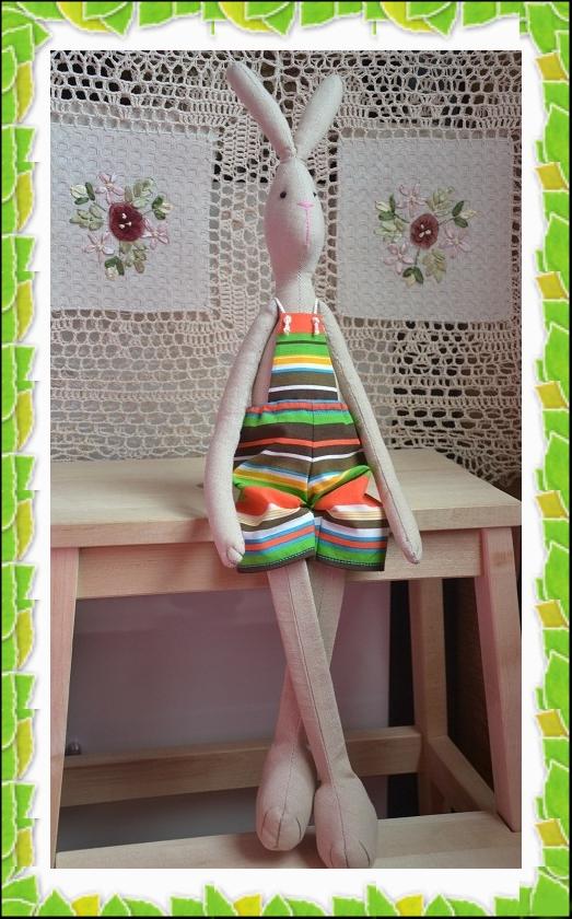 заяц тильда, интерьерная кукла