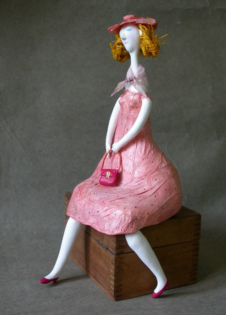 Мастер класс куклы из папье маше своими руками