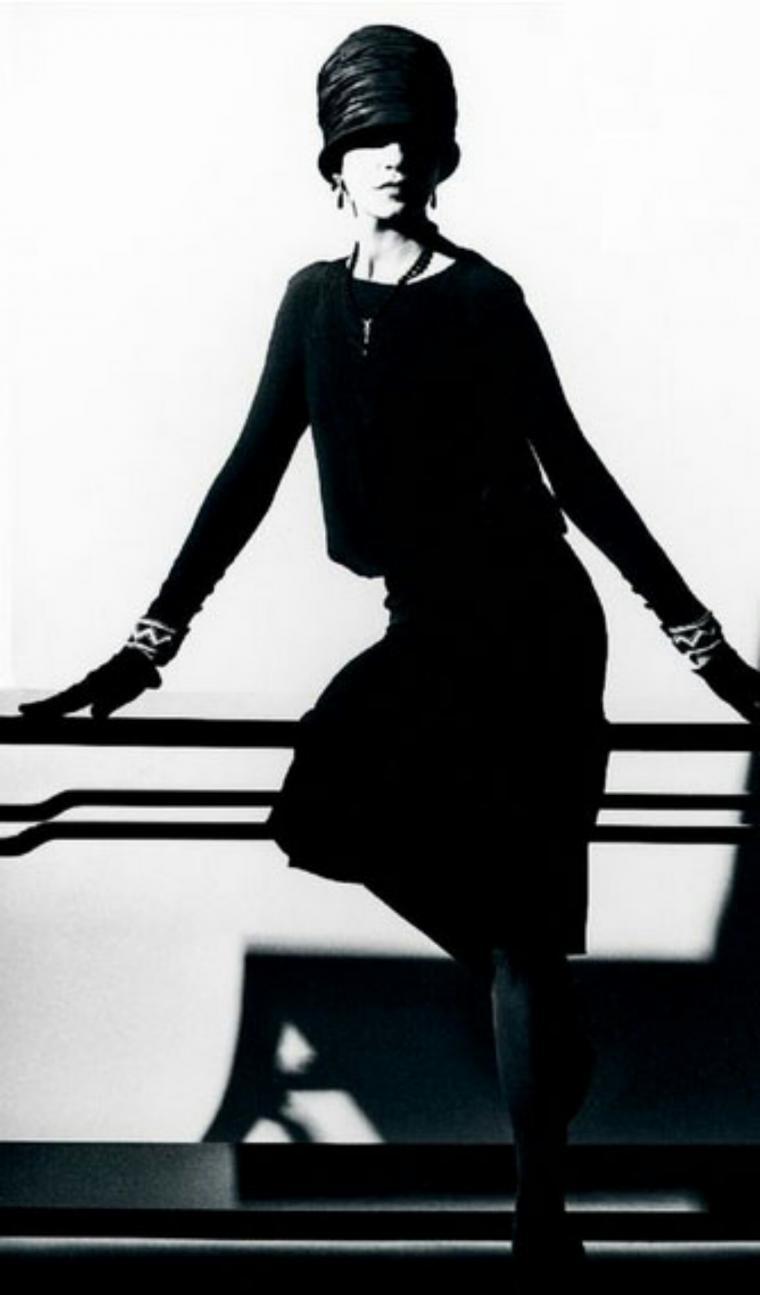 Маленькое черное платье от шанель 1926 г