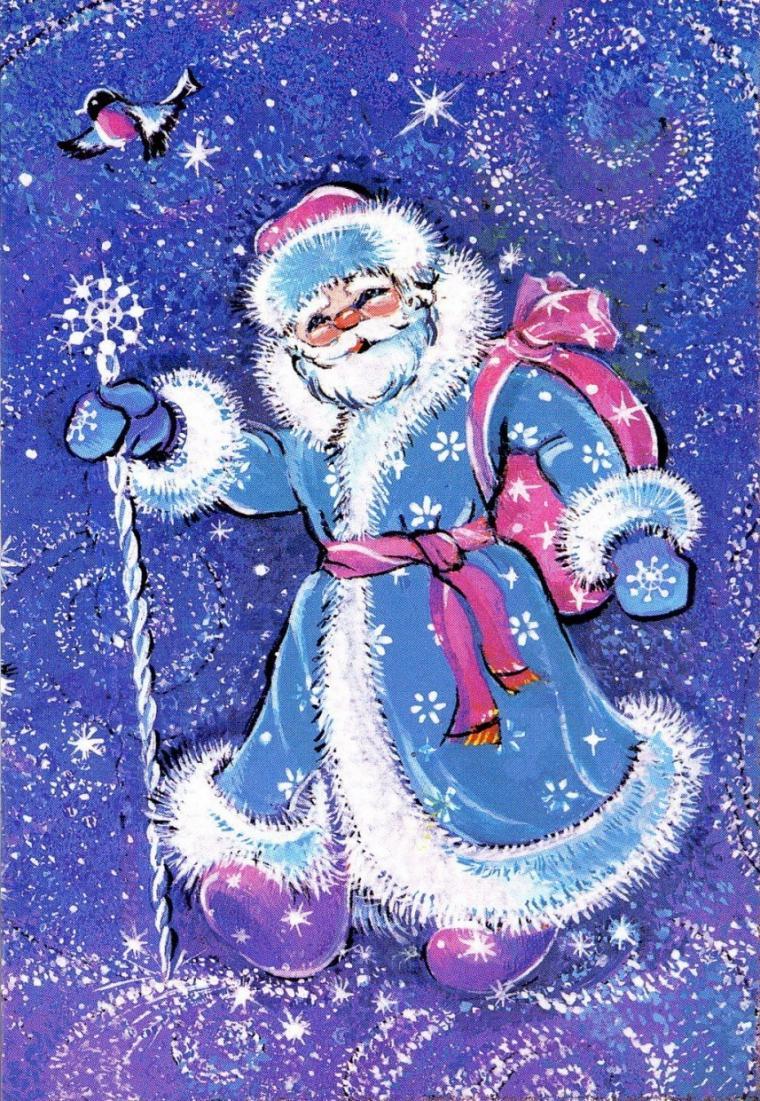 Фото рисунков новогодних открыток