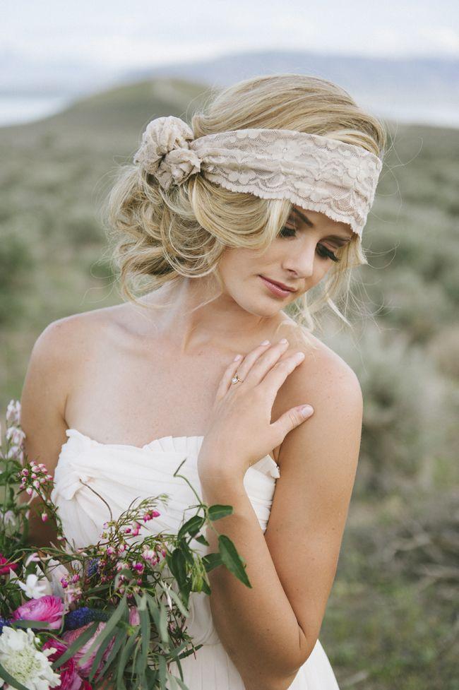 Свадебная прическа в стиле бохо фото