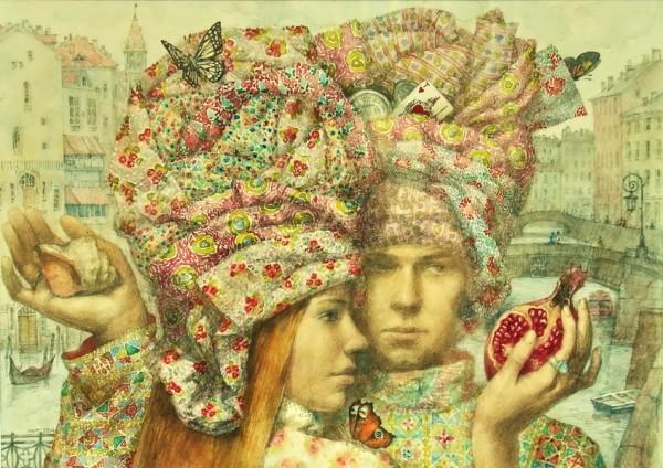 Алена Наливкина и ее сказочные картины, фото № 7