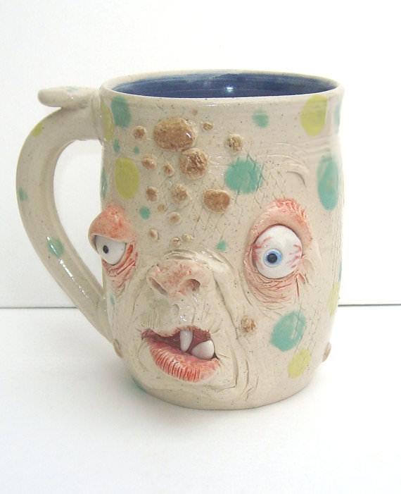 страшные чашки