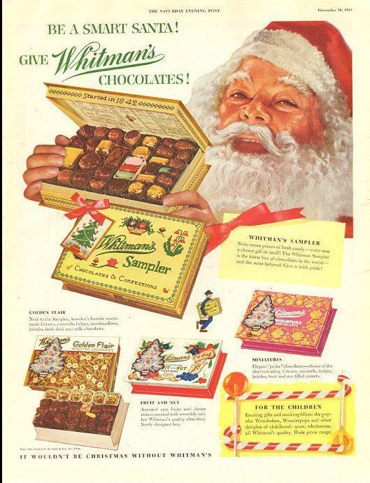Новогодняя реклама Vintage/1951 -1956 включительно, фото № 34