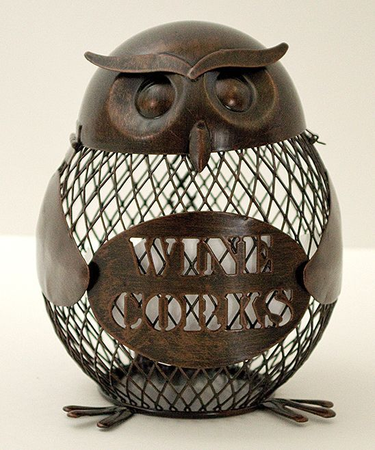Owl Cork Cage. Combining my love for hoots and wine