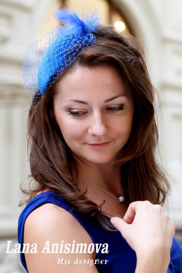 обучение, мастер-класс по шляпке, шляпка капелька