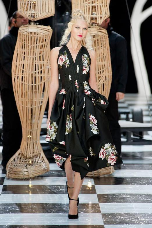 Franck Sorbier Haute Couture весна-лето 2014, фото № 12