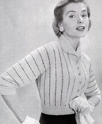 ретро настроение вязание 1950 х ярмарка мастеров