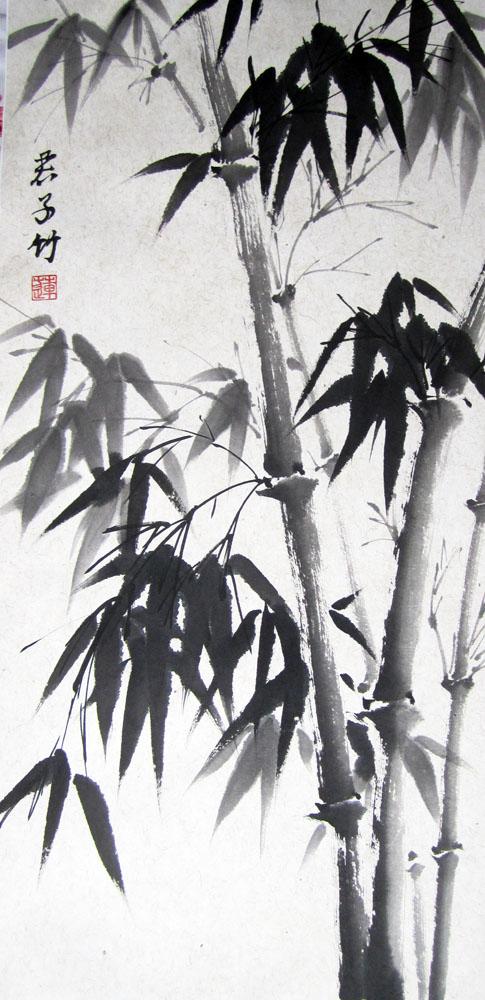 китайская живопись, мастер-класс, уроки живописи
