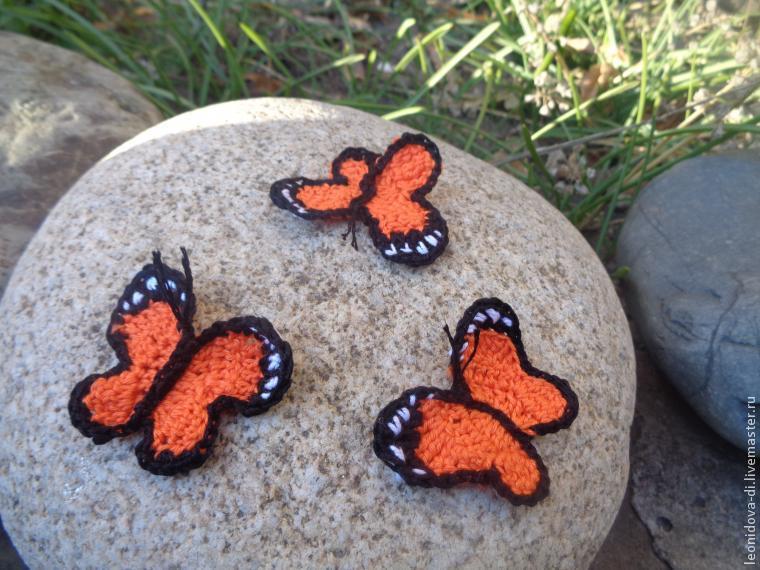 Как связать бабочку крючком, фото № 8
