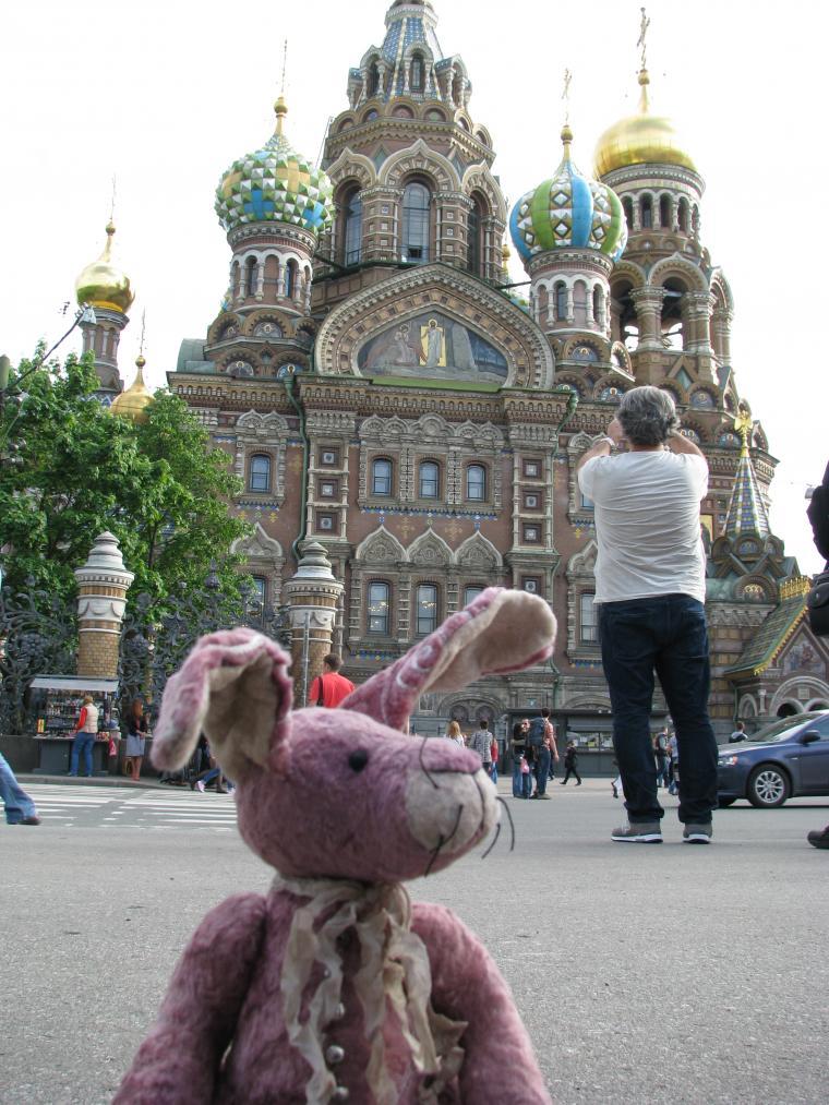 Путешествие зайца из Москвы в Санкт-Петербург, фото № 9