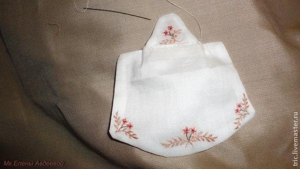 Одежда для кукол .Фартучек., фото № 20