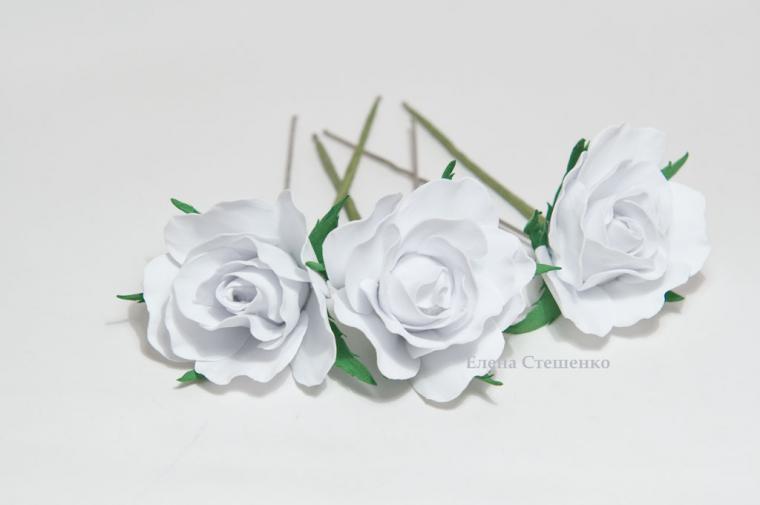 роза из фоамирана, видео мастер-класс