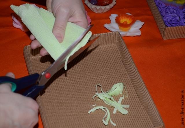 Наполнитель для подарочной коробки своими руками 54