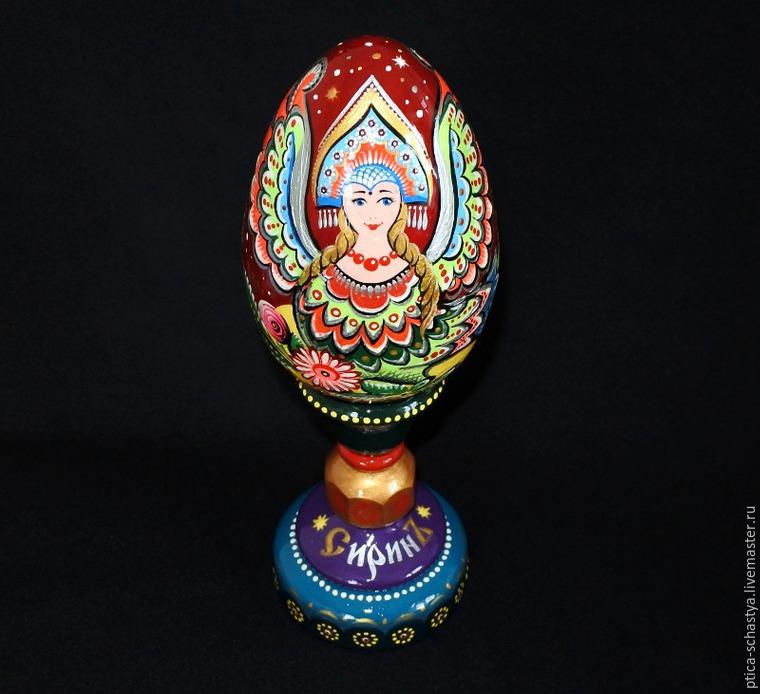 Делаем пасхальное яйцо «Сирин», фото № 20