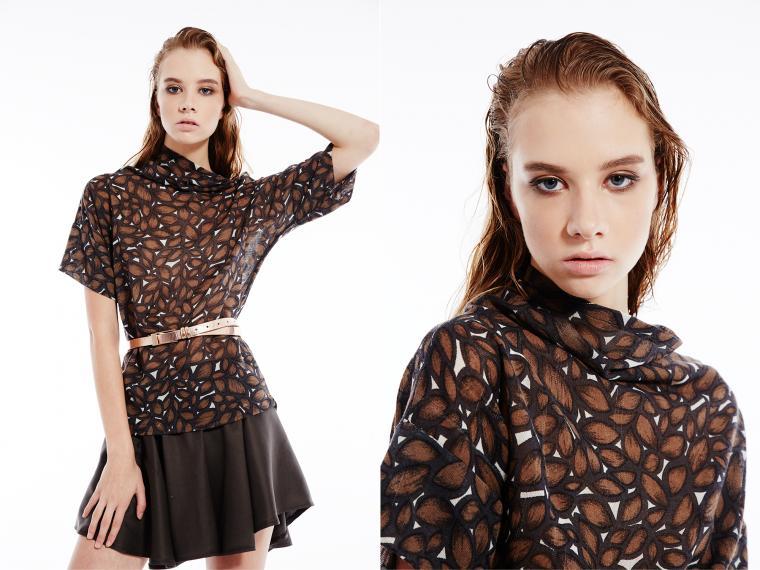 юбка, стиль, зимняя одежда, модель, блузка