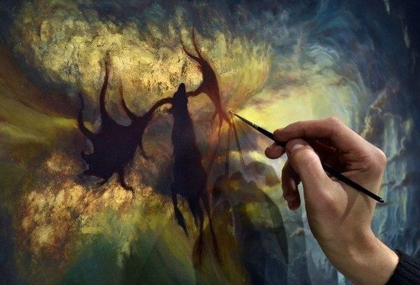 Курс Поталевая живопись: мистическое сияние Вашего интерьера, фото № 4