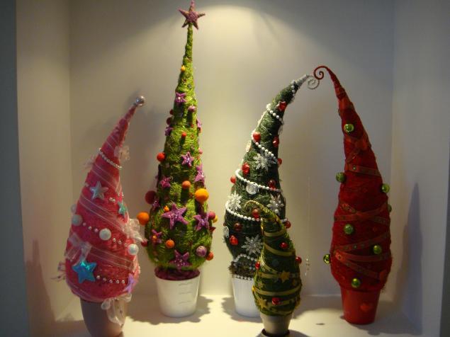 Выращиваем Новогодние елочки из сизали! - Ярмарка Мастеров - ручная работа, handmade